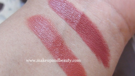 Lotus Herbals Peach Creme vs pink blush