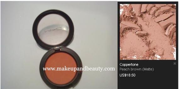 mac coppertone blush - photo #18