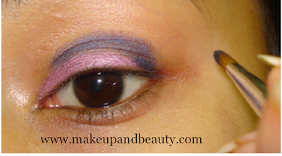 Purple Pink Smokey Eye