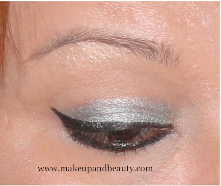 Silver BLack Eye makeup
