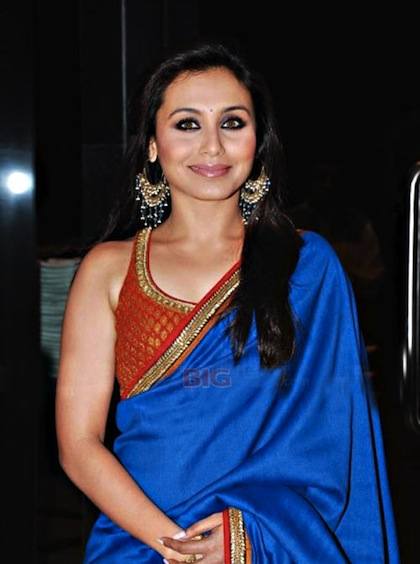blue saree