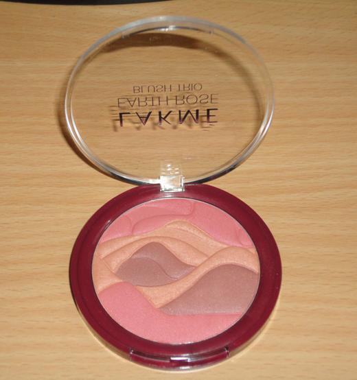 lakme earth rose blush trio product
