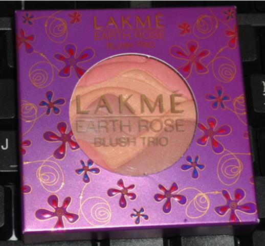 lakme earth rose blush trio