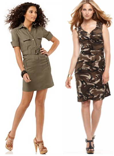 millitary dresses Military Fashion Trend Wear