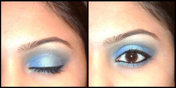 indian party makeup. Electric Blue Party Makeup