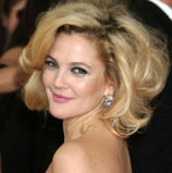 Drew Barrymore round face