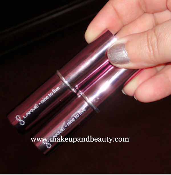 LAKME NINE TO FIVE DAY PERFECT LIP COLOURS – REVIEW