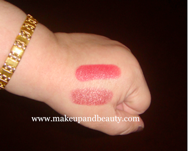 LAKME NINE TO FIVE DAY PERFECT LIP COLOURS – swatch