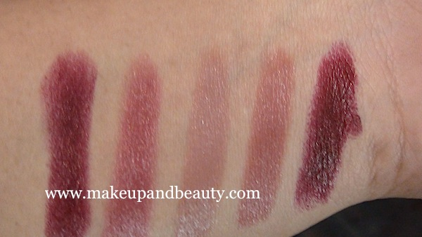 Lakme Lip Love Lipstick Swatches