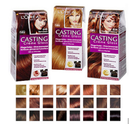 Loreal Casting Creme Gloss is a no ammonia hair colourant that gives your
