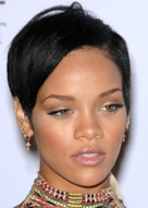 Rihanna Diamond Face Shape