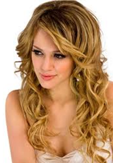 Curly Wavy Hairstyle