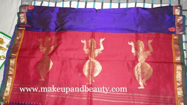 My first silk saree