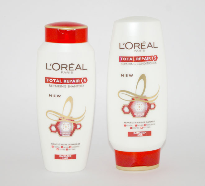 loreal total repair 5 shampoo conditioner
