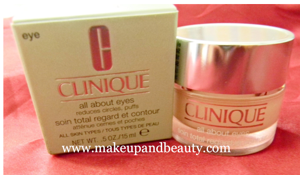 CLinique Under eye cream