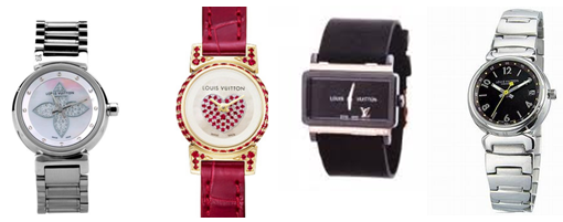 Louis Vuitton watches