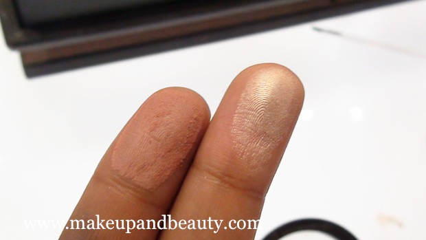 MAC & Mickey contractor Blush swatches