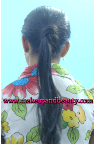Rose Bun 2 Rose Bun – Long Straight Hair Styling Tutorial