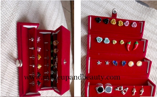 how to store accessories - earrings