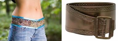 how to wear belts