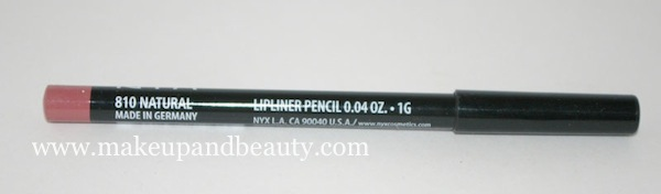 NYX Slim lip liner Natural