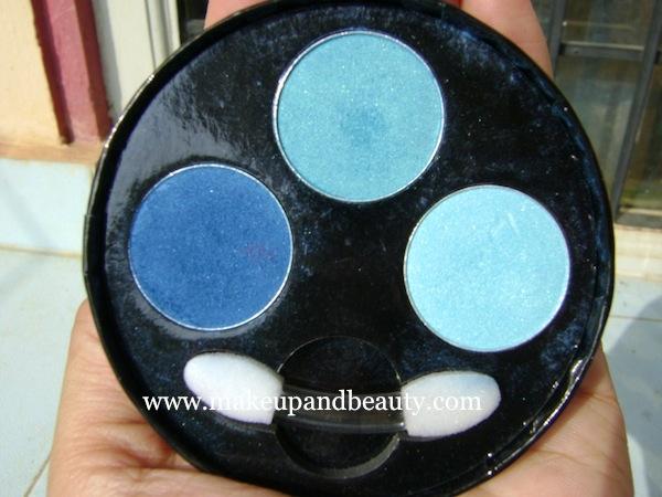 Oriflame eyeshadow palette- blue
