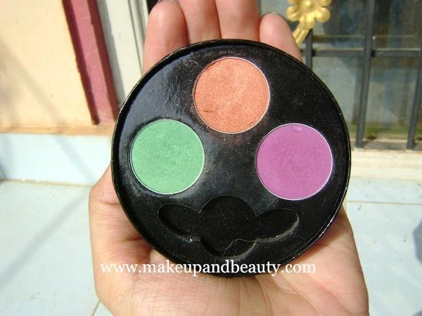 Oriflame eyeshadow palette- colours