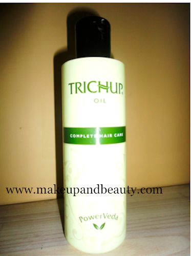 Trichup Hair Oil Swatch