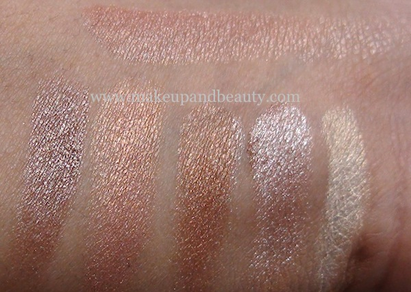bobbi brown shimmer brick bronze swatch