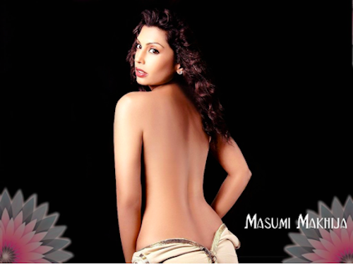 bollywood backless masumi