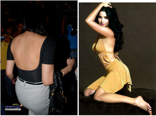 bollywood backless katrina kaif