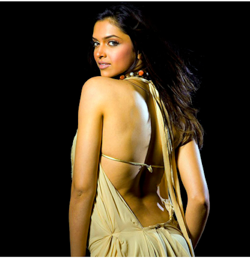 bollywood backless deepika padukone