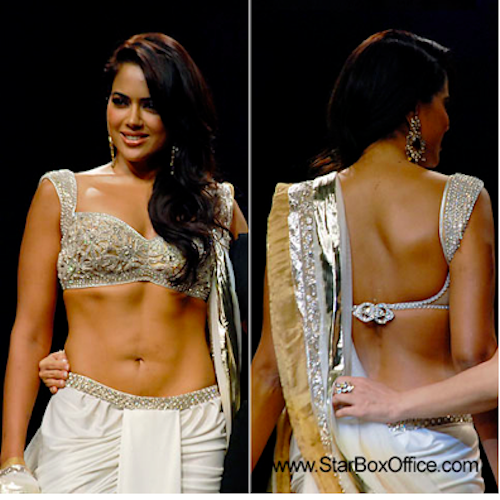 bollywood backless sameera reddy