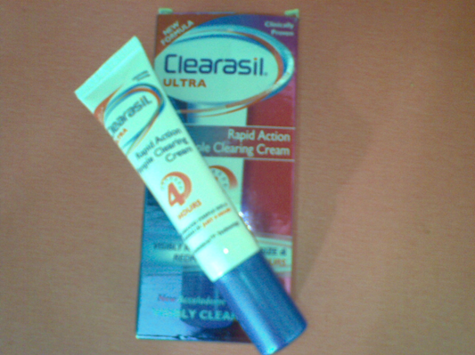 clearsil ultra pimple clearing cream