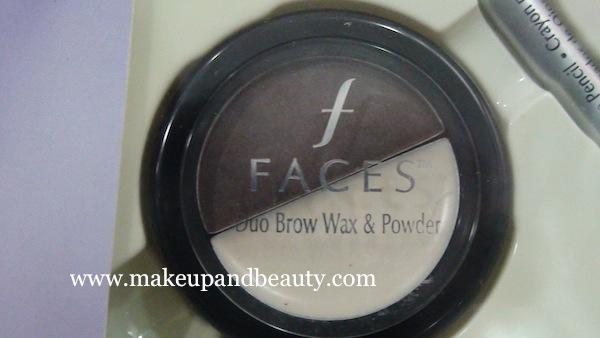 faces cosmetics brow powder