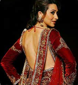 karishma kapoor backless gown