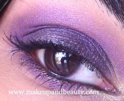 mac marvel eye makeup Purple Eye Makeup using MAC Marvel , Bourjois Baked Eyeshadow