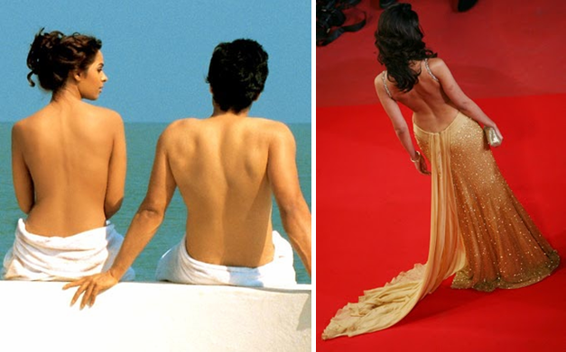 mallika sherawat backless dress