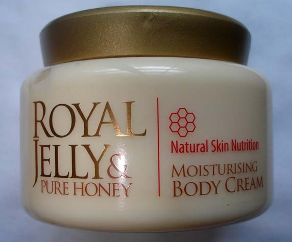 marks spencer royal jelly pure honey body cream