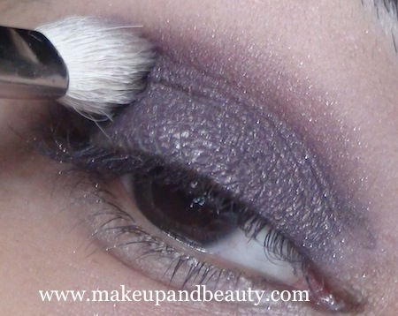 MAC Marvel eyeshadow on crease