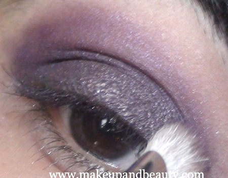 purple eye makeup 11 Purple Eye Makeup using MAC Marvel , Bourjois Baked Eyeshadow