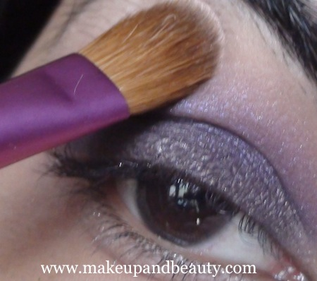 purple eye makeup 13 Purple Eye Makeup using MAC Marvel , Bourjois Baked Eyeshadow
