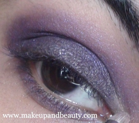 purple eye makeup 17 Purple Eye Makeup using MAC Marvel , Bourjois Baked Eyeshadow
