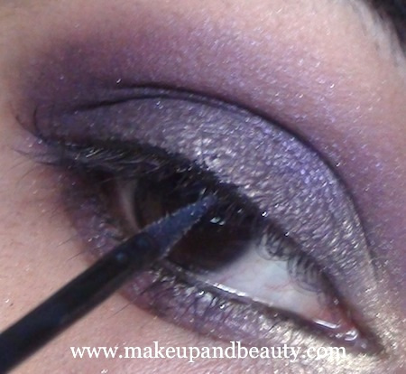 purple eye makeup 20 Purple Eye Makeup using MAC Marvel , Bourjois Baked Eyeshadow