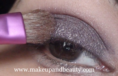 purple eye makeup 8 Purple Eye Makeup using MAC Marvel , Bourjois Baked Eyeshadow