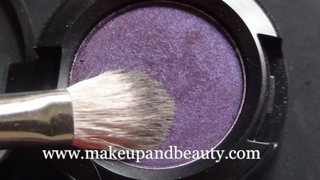 purple eye makeup 9 Purple Eye Makeup using MAC Marvel , Bourjois Baked Eyeshadow