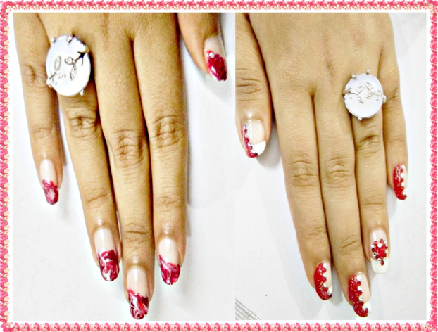 valentine nail designs_22. Easy Nail Art Designs For
