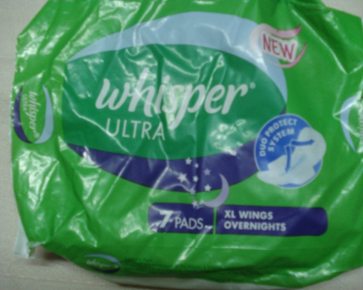 whisper ultra xl wings overnights