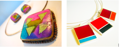 color blocking trend jewellery