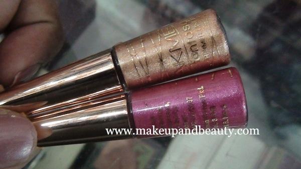 lakme fantasy shimmer liner bronze melt, pink crystal